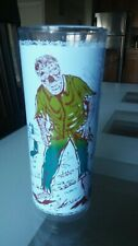 Vintage Universal Monsters Wolfman Drinking Glass 60s
