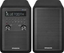 Sangean WR-50P FM-RBDS/AM/Bluetooth Wood Cabinet Table Top Stereo