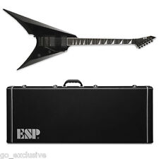 ESP E-II ARROW Black BLK Electric Guitar NEW w/ FREE Hardshell Case! EII E2 E-2
