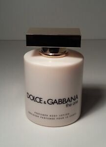 DOLCE & GABBANA ~ THE ONE 6.7 OZ / 200mL Perfumed BODY LOTION + FREE SHIPPING