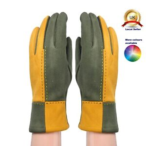 One size 2-colour design Suede Looking Woman Girl Lovely Boutique Gloves