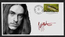 Ltd. Edt. Cliff Burton Metallica Collector Envelope repro autograph 1106