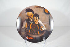 """Norman Rockwell Collector's Plate """"The Music Maker"""" 1981 Limited Edition"""