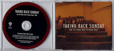 TAKING BACK SUNDAY Liar (It Takes One To Know One) UK 1-track promo CD PR016090