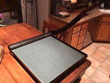 Martin Yale W18 Premier Heavy Duty Paper Trimmer 18 Cutting Length Base Size