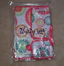 Thirty One 31 Pack N' Pull Caddy Citrus Medallion