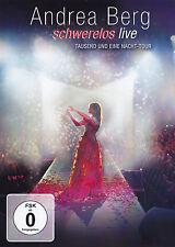 ANDREA BERG - DVD - SCHWERELOS LIVE - Tausend und eine Nacht-Tour