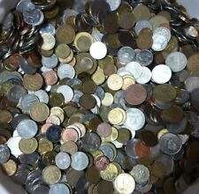 Lot 2 Pound / 2 Libra / 908 Grams Of Mixed Foreign World Coins Free Shipping