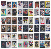 Rookie RC Numbered Parallel SP Young Star Cards NHL Hockey - Choose From List