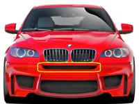 New Genuine BMW X6 E71 E72 M Performance Front Upper Center Grille 2159276 OEM