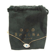 SPHERA MILANO 925 Sterling Silver Chain Necklace Gold Plated