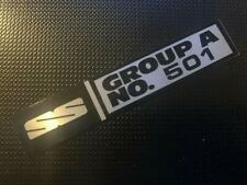 SS GROUP A NO. 501 BADGE SUIT VL BROCK COMMODORE PLUS PACK REPLICA PETER HDT