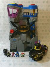 Imaginext Batcave Bundle with Figures and Submarine Vehicle