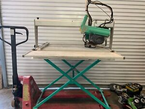 IMER Combi 250VA Tile Saw w/ Stand & Blade with extension
