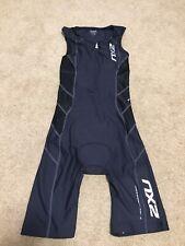 2XU Trisuit Airflon Compression Body Speed Skinsuit Shorts Triathlon Men's Sz S