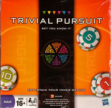 TRIVIAL PURSUIT - BET YOU KNOW IT - HASBRO BOARD GAME - STILL SEALED