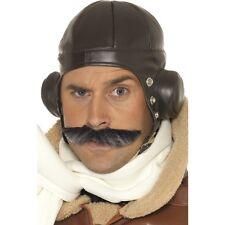 Aviator Helmet Pilot Cap Amelia Earhart Brown Hat Baron Pilot Steampunk Adu