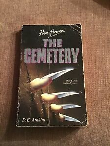 The Cemetery by D.E. Athkins (Paperback, 1993) Point Horror Book