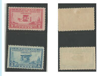 US Commemorative Stamps, 1928, 649/650 Pair, MOG, VLH, VF, Fresh, Bright colors