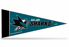 """Offically Licensed NHL San Jose Sharks Mini Pennant  9""""x4"""" Made in USA"""