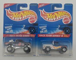 SEALED Hot Wheels Nissan Truck + Bywayman Race Series Mattel Diecast 1:64 Lot