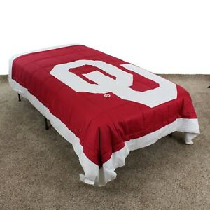 Oklahoma Sooners Comforter Only - Twin, Queen or King