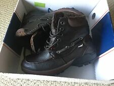 PAJAR Men's Bocce Brown Leather Waterproof Insulated Snow Boot 44 EU/ 11.5 US