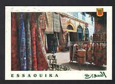 ESSAOUIRA (MAROC) COMMERCES de TAPIS , THEIERES & VETEMENTS en 2001