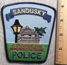 SANDUSKY MICHIGAN POLICE PATCH (HIGHWAY PATROL, SHERIFF, EMS)