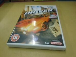 Nintendo Wii Driver: Parallel Lines Game Pegi 18 PAL- VG Condition