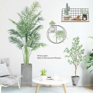 Potted plants Living Room Background Decorative Wall Stickers Decals Decor Art