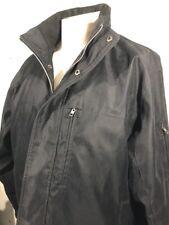 Men's Michael Kors Coat Black Size XL With Hood Excellent Condition Full Zip