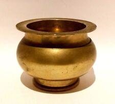 Vintage Solid Brass Vase Bowl