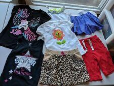 LOT OF 7 GIRLS CLOTHING ITEMS (SIZE: 5 & 5/6) JK, GYMBOREE, CHILDREN'S, ETC