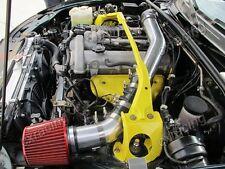 CXR Super Charger Intake Piping kit Filter For 90-98 Mazda Miata MX-5 MX5 Black