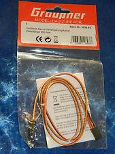 GRAUPNER 3935.65 cable de RALLONGE servo GOLDTECH extension VERLÄNGERUNGSKABEL