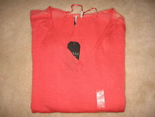 NWT $79 GUESS Sweater, Long-Sleeve V-Neck High-Low - size Small