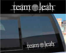 """Team Leah"" Sticker Decal for Twilight Wolf Pack & Jacob w/ tattoo design too!"