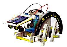 13 in 1 Solar Bausatz Kit Roboter Auto Energie Kreativset für Kinder 10+