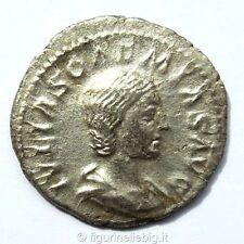 Impero Romano Jiulia Soemia Bassiana 218-222 D.C. Argento 1,54 gr. 20 mm.