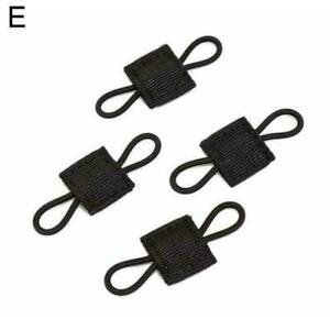 MOLLE Elastic Ribbon Buckle Tactical Binding Retainer Stick NEW For PTT X4G3