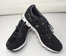 Women's ON CLOUD QN Cloudtec Swiss Engineering Black Run/Walk Athletic Shoes; 9W