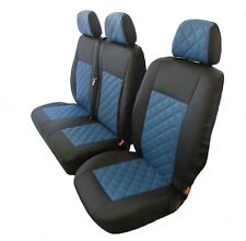 Deluxe Front Seat Covers Grey Race For FIAT DUCATO Motorhome 94-06