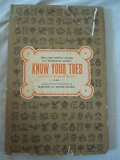 KNOW YOUR TOES, 1963 1st ed, Jayme, Cook, Einsel, dustjacket
