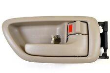 fits Toyota Sequoia Avalon Inside Door Handle Trim Beige Tan Passenger Side