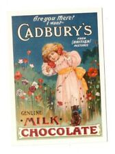 Cadbury's Genuine Milk Chocolate - Reproduction Advert Postcard