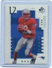 2000 NFL UD SP Authentic #118 Tom Brady Rookie Card #0012/2000 Patriots MVP   RP