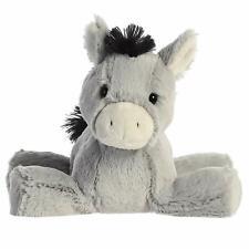 """Aurora - Splootsies - 9"""" Donkey Plush Toy Animal"""