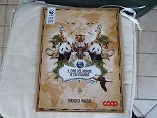 album figurine il giro del mondo in 180 figurine WWF album completo