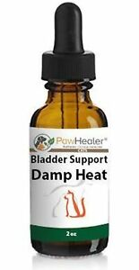 Urinary Tract Infection-Cats - Bladder Support Damp Heat - 2 fl oz Herbal Liquid